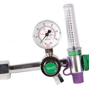 Regulador de Oxigênio Medicinal com Fluxômetro
